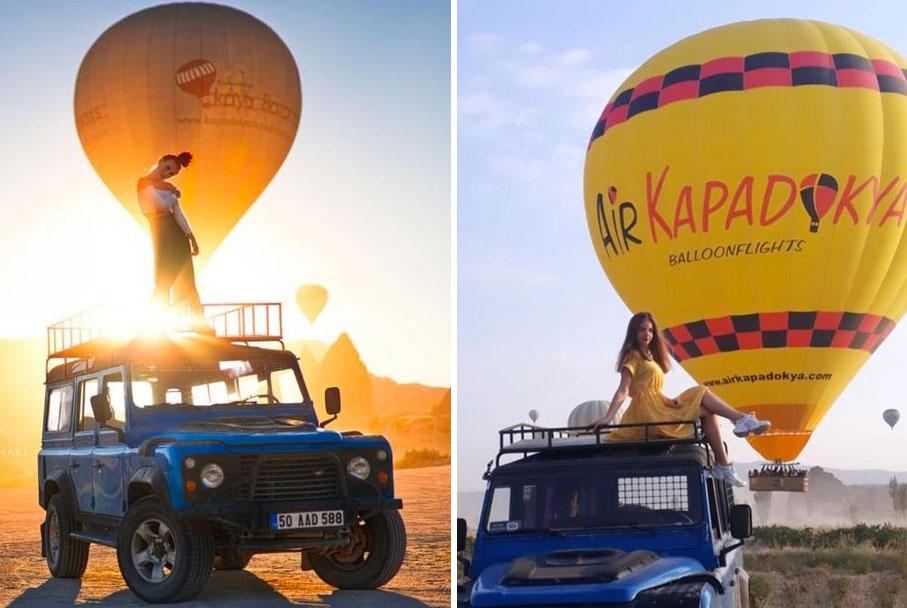 Kapadokya Jeep Safari Turuları ve Fiyatları