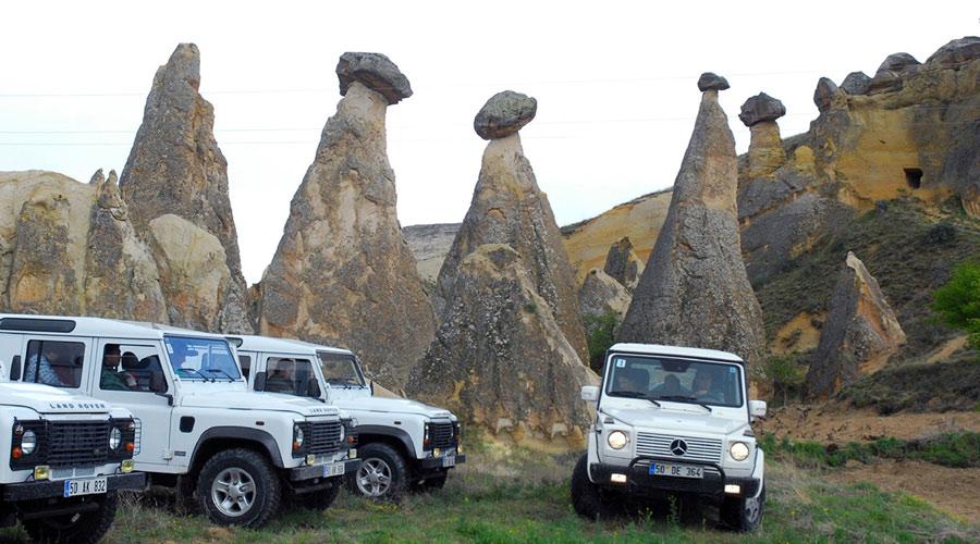 Kapadokya Jeep Safari Turu Fiyatları
