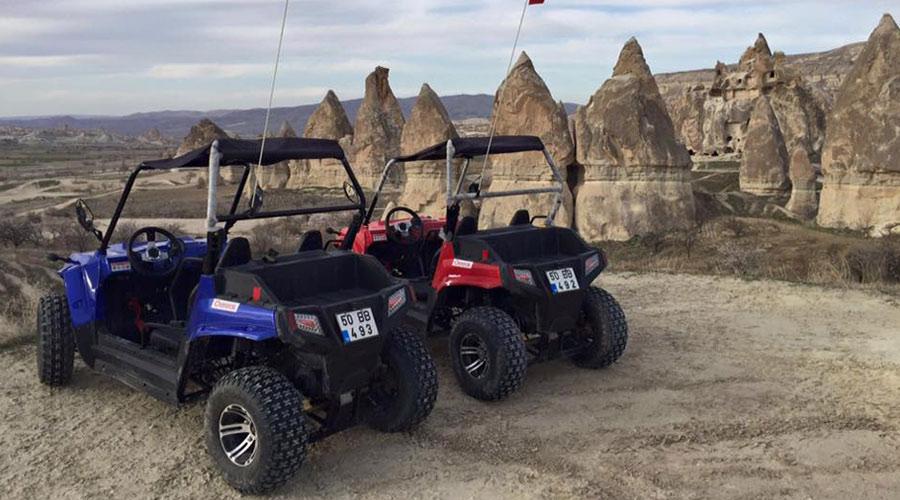 Kapadokyada Atv Turları