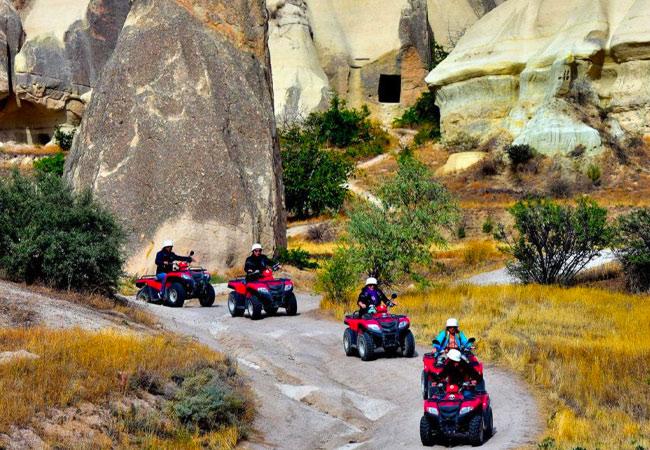 Kapadokya Vadilerinde Atv Turları
