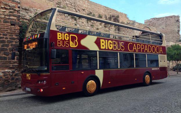 Kapadokya Hopon Hopoff Şehir Turu Otobüsü
