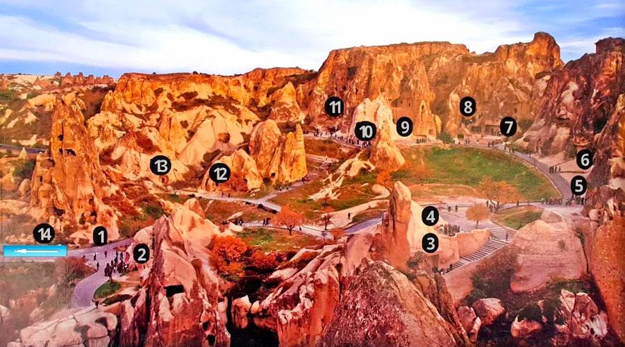 Kapadokya Kırmızı Tur - Göreme Açık Hava Müzesi