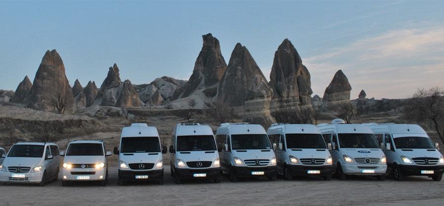 Kayseri Hava Alanı Kapadokya Transferi Araçları