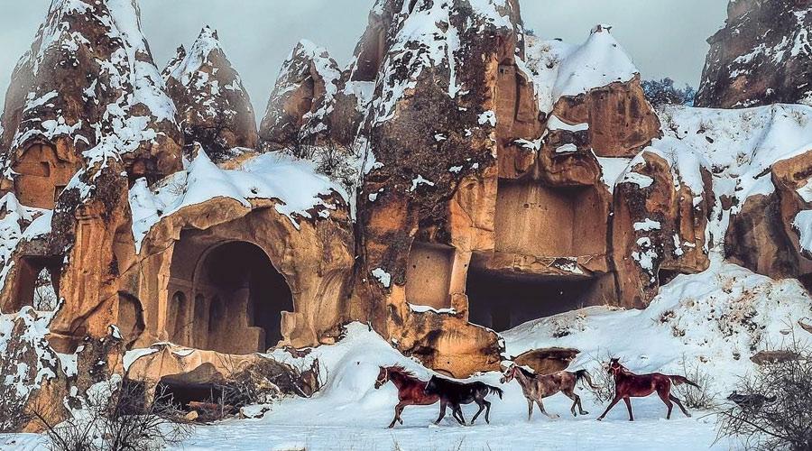 Kapadokyada Ata Binme Turları