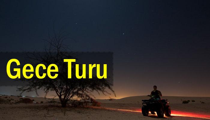 Kapadokya Gece Atv Turu - Özel Tur