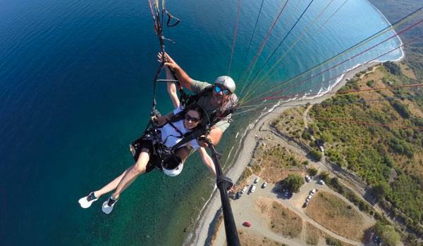 istanbul yamaç paraşütü turu