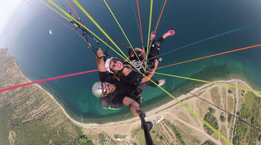 Paragliding İstanbul Tandem Yamaç Paraşütü Turu