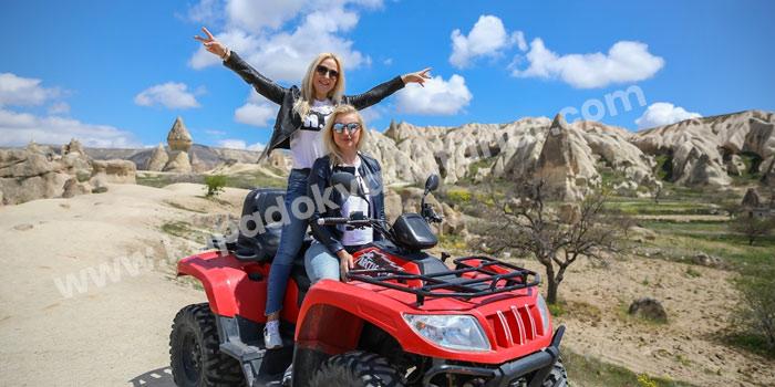 Kapadokya atv kiralama fiyatları