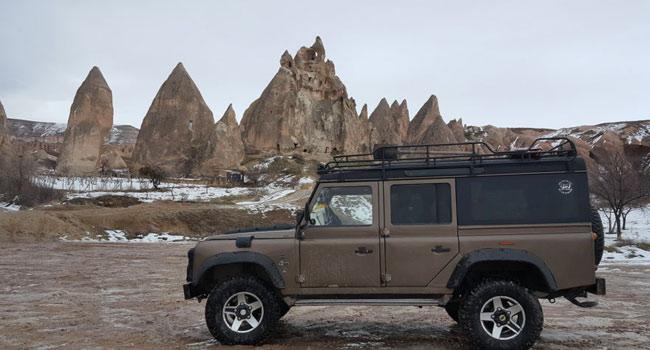 Kışın Jeep Safari