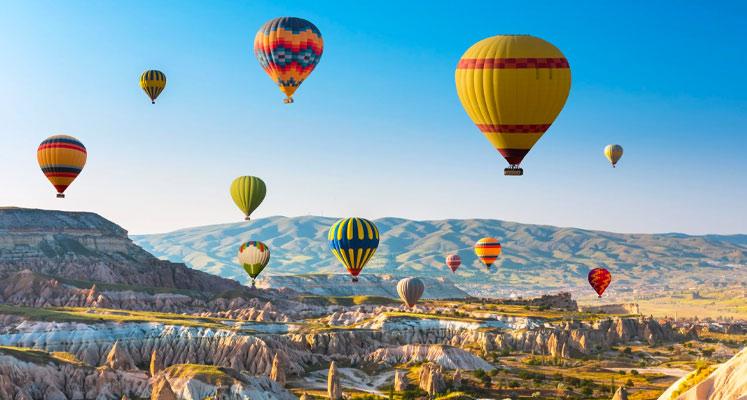 Kapadokya Göreme Balona Binme
