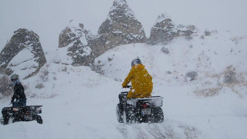 Kapadokyada Kışın Atv Turları