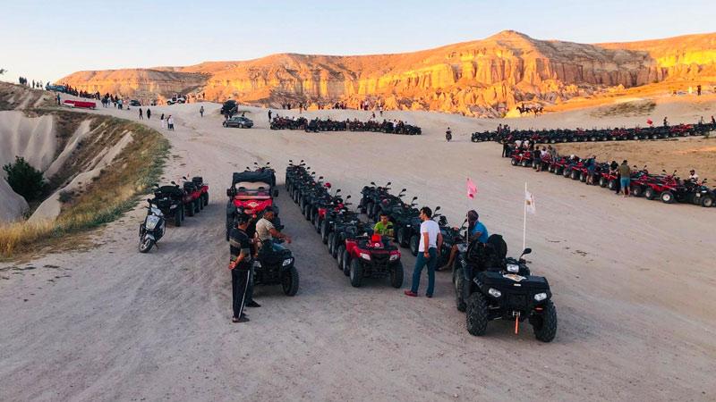 Kapadokya Sunset Atv Noktası